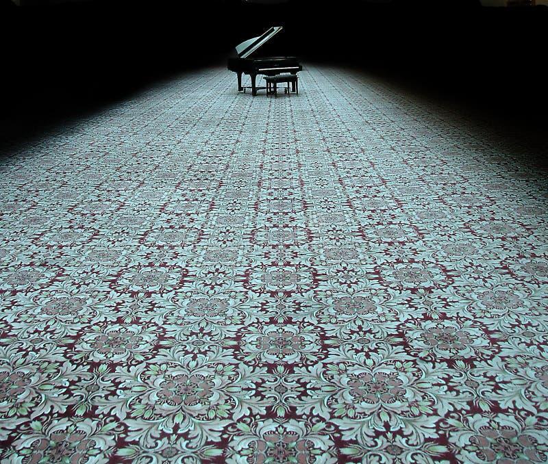 遥远的钢琴 免版税库存照片
