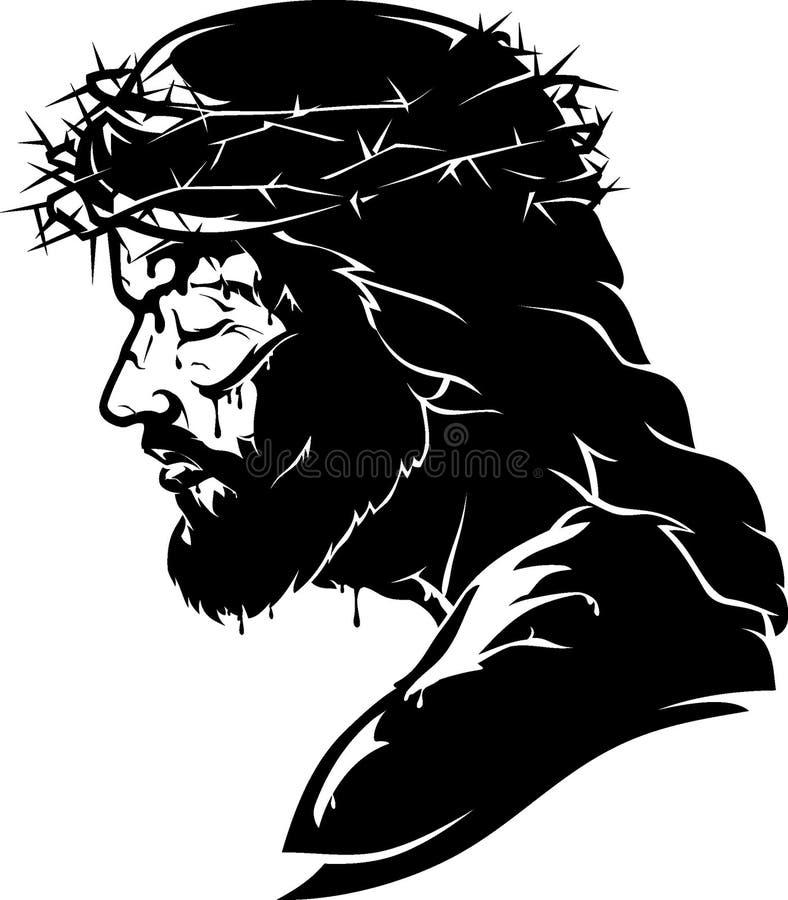 遭受的耶稣基督 皇族释放例证