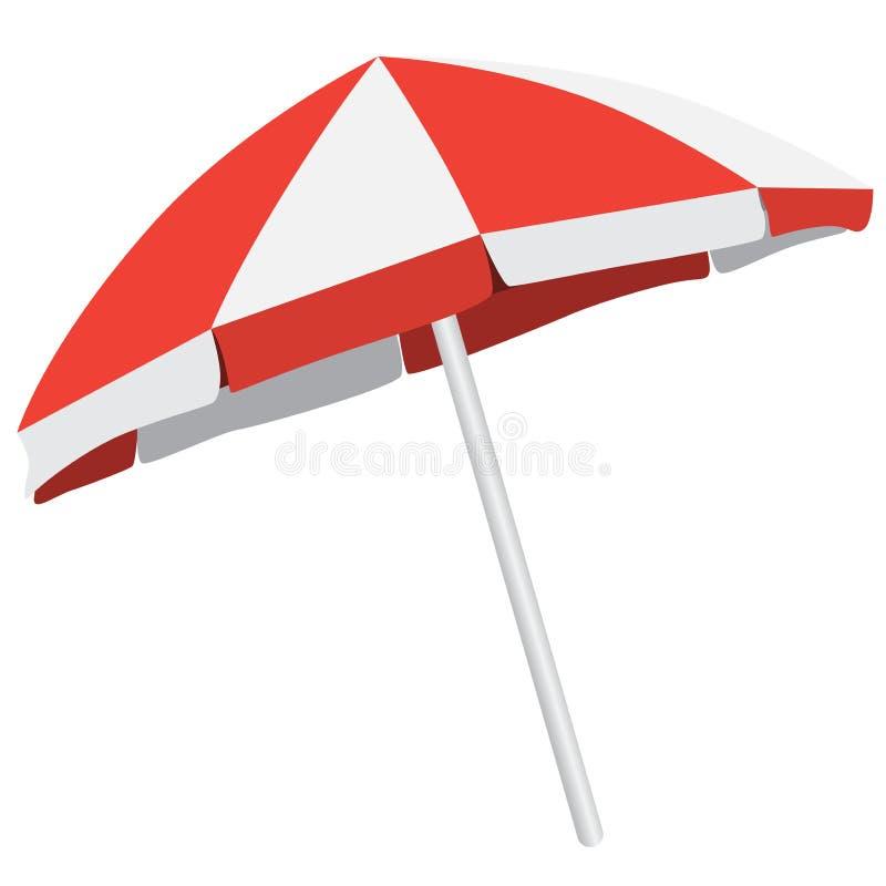 遮阳伞 皇族释放例证