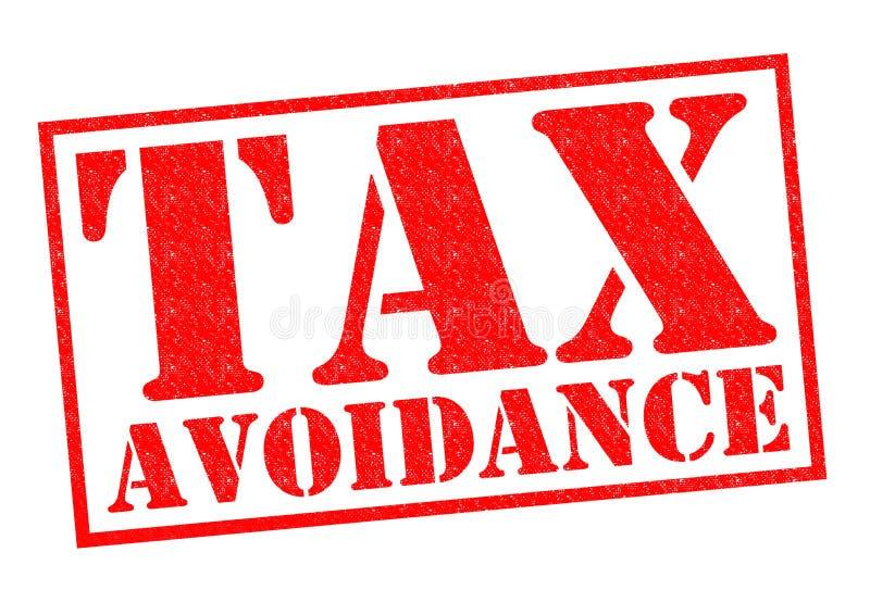 避免纳税 向量例证