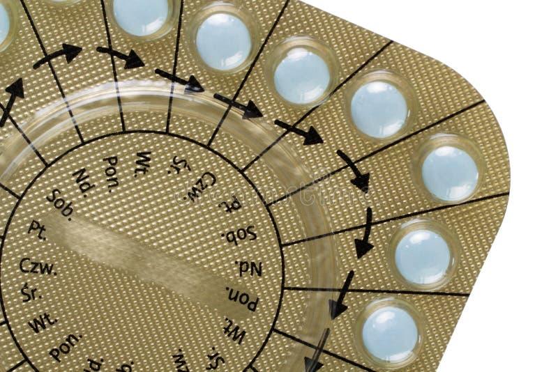 避孕药 免版税库存照片