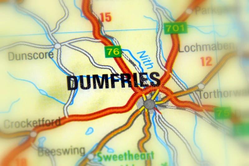 邓弗里斯,苏格兰,英国 免版税库存照片