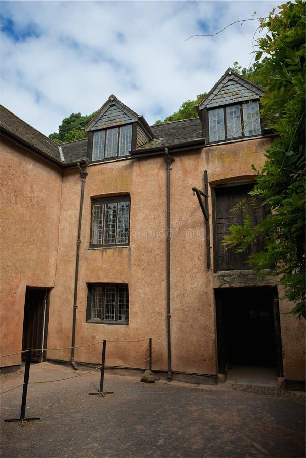 邓斯特城堡,全国信任,萨默塞特,英国 免版税库存照片
