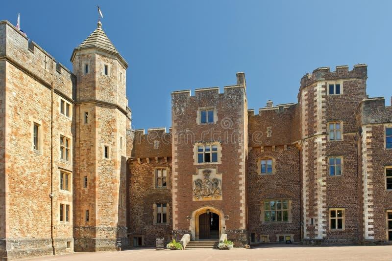 邓斯特城堡,萨默塞特,英国 库存图片
