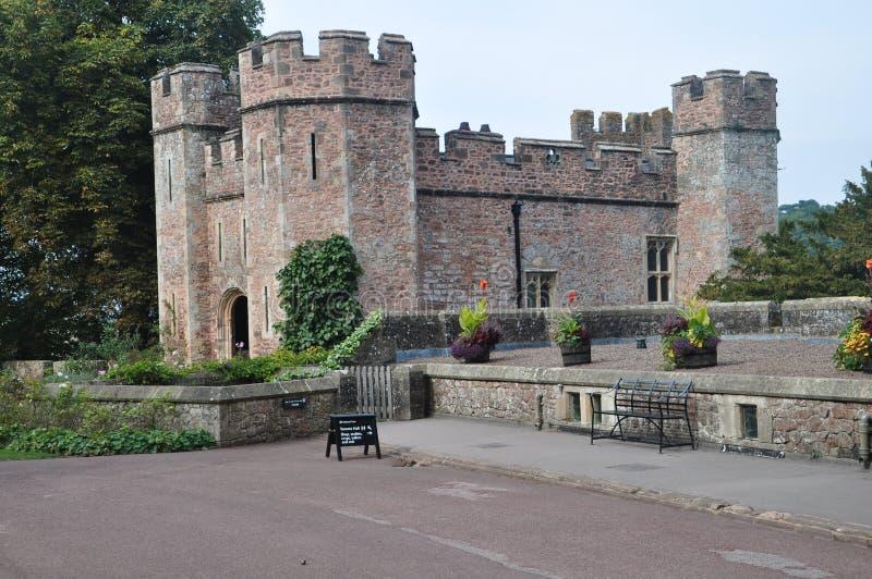 邓斯特城堡 免版税库存图片