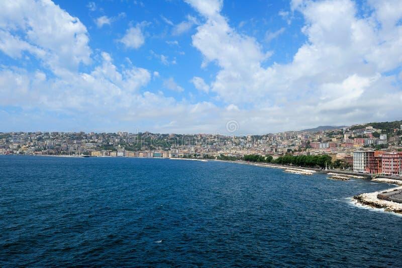 那不勒斯,意大利海岸看法