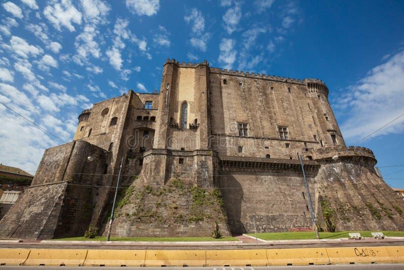 那不勒斯Castel Nuovo Maschio Angioino 图库摄影