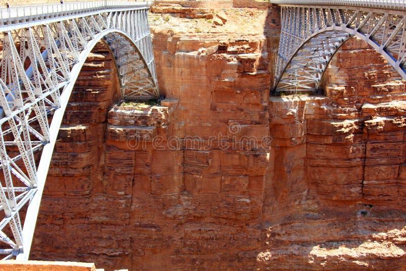 那瓦伙族人桥梁和峡谷屏障 库存照片