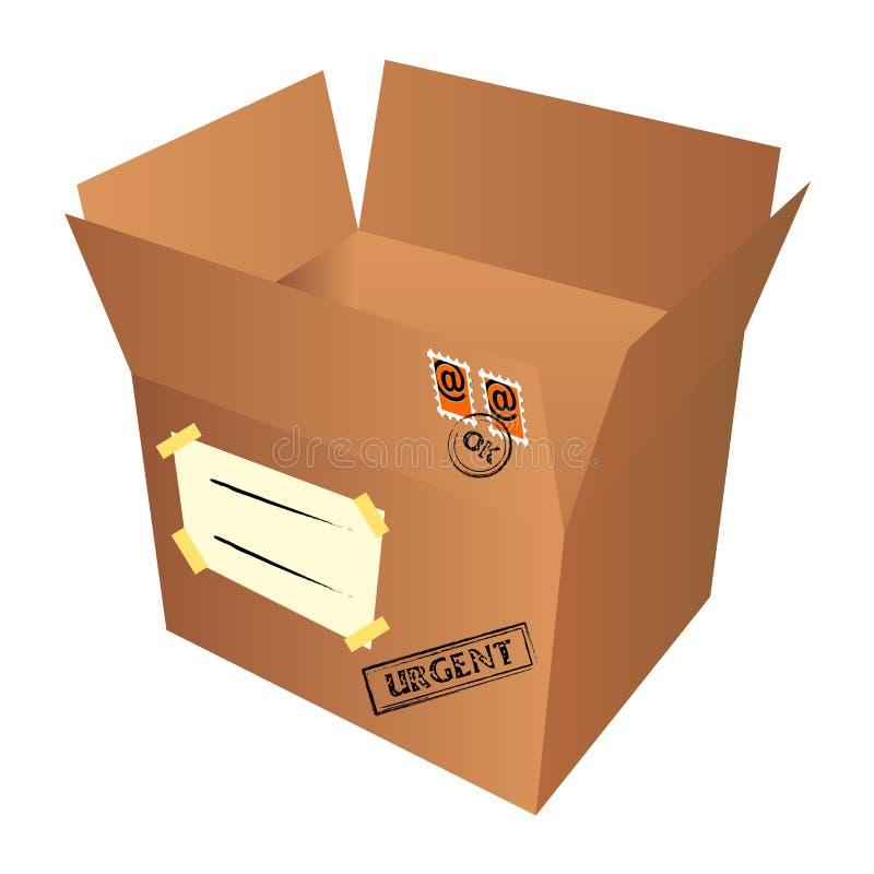 邮件程序包 皇族释放例证