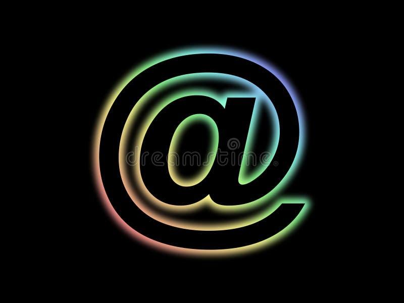 邮件符号 向量例证