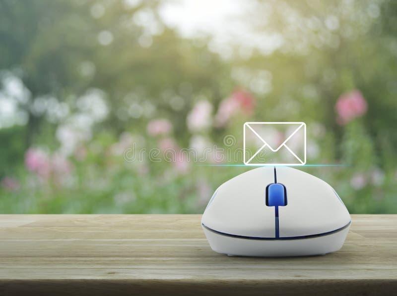 邮件象,与我们联系概念 库存照片
