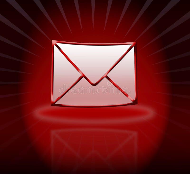 邮寄您 向量例证