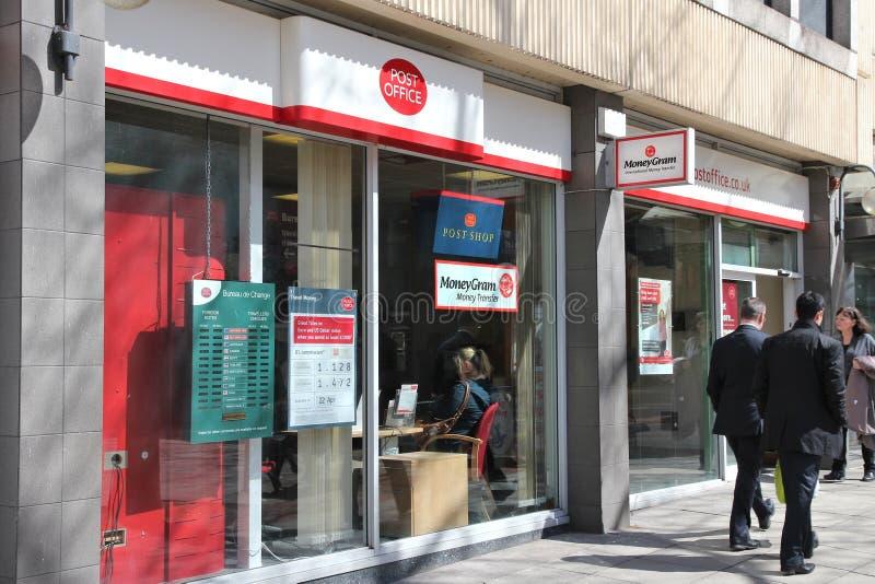 邮局在英国 库存图片