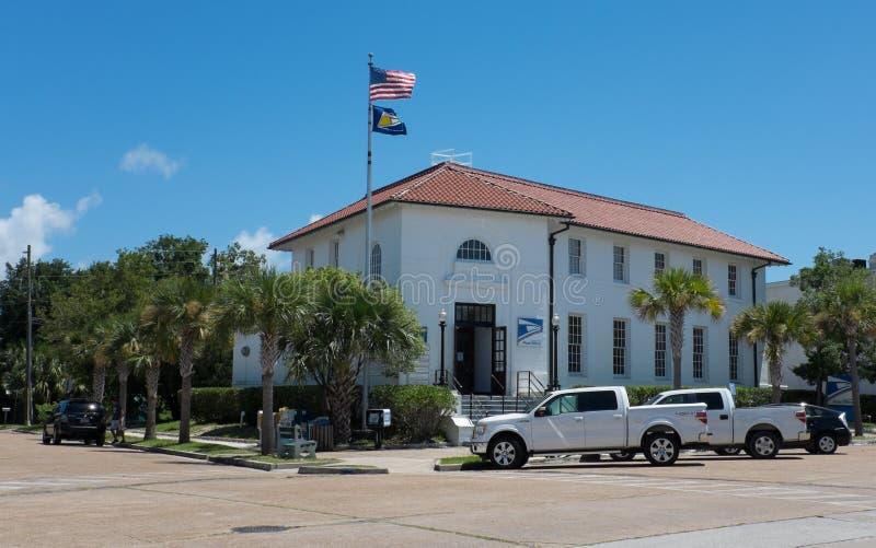 邮局,阿巴拉契科拉,佛罗里达 库存图片