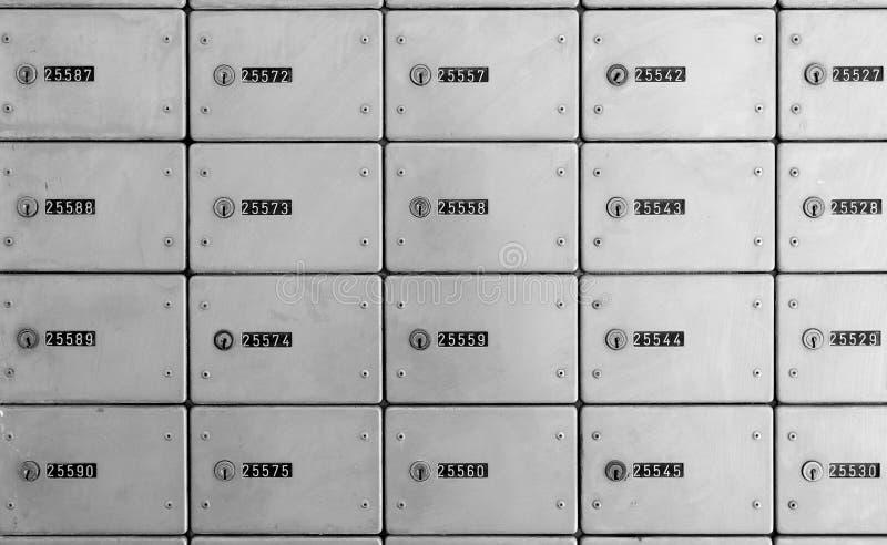 邮政专用信箱 库存照片
