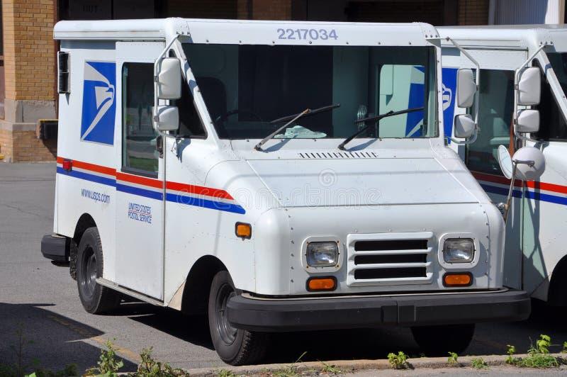 邮政usps通信工具 免版税库存照片