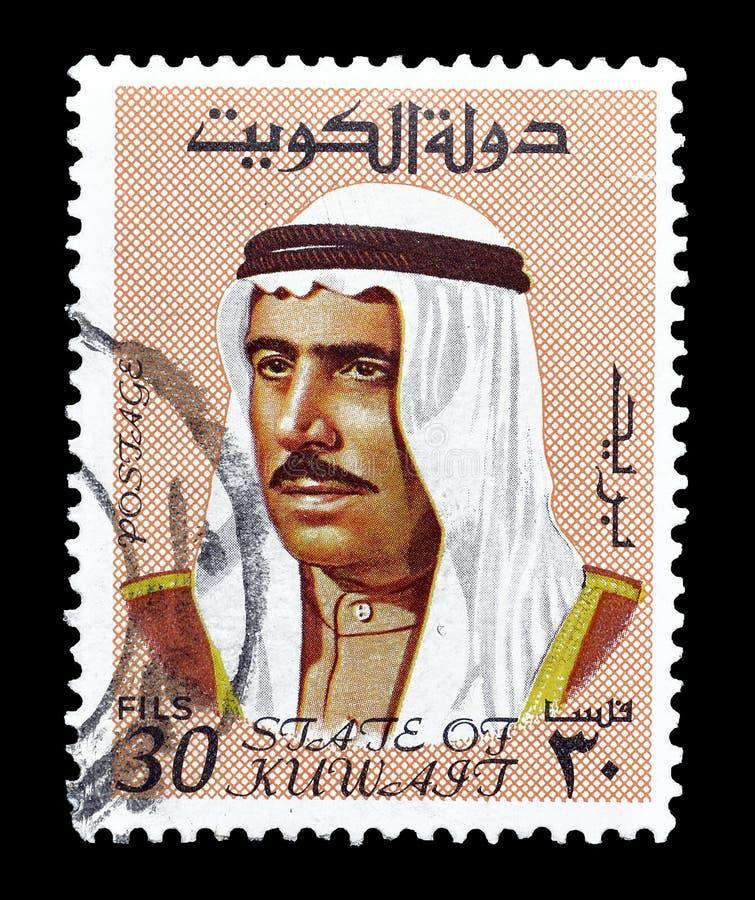 邮票的科威特 免版税库存照片