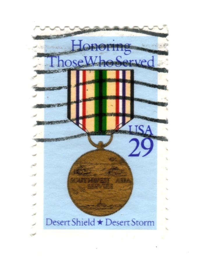 邮票美国 库存照片