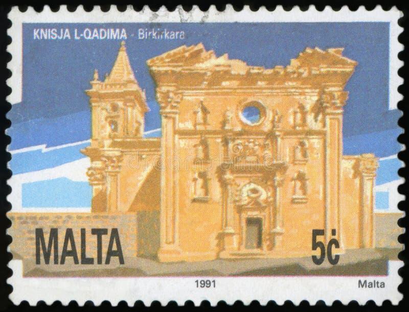 邮票-马耳他 免版税库存图片