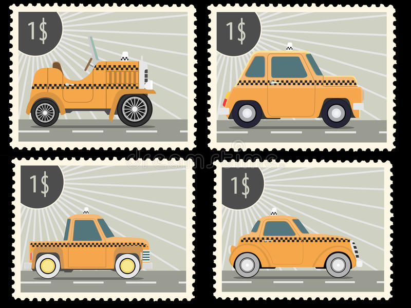 Download 邮票 库存例证. 插画 包括有 例证, 经典, 复兴, 乱画, 背包徒步旅行者, 设备, 动画片, 查出 - 59101537