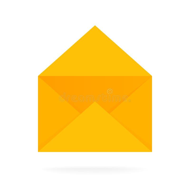 邮件信封象 电子邮件送概念传染媒介例证 向量例证