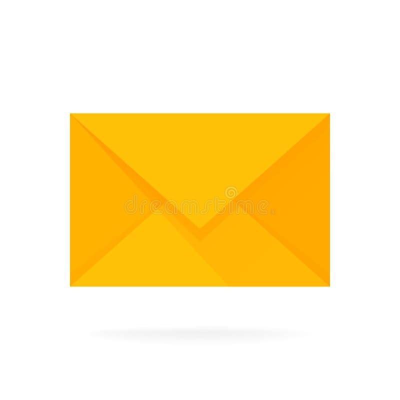 邮件信封象 电子邮件送概念例证 向量例证