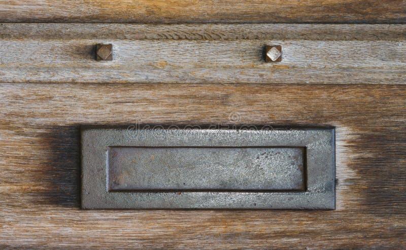 邮件存取口letterbox 库存照片