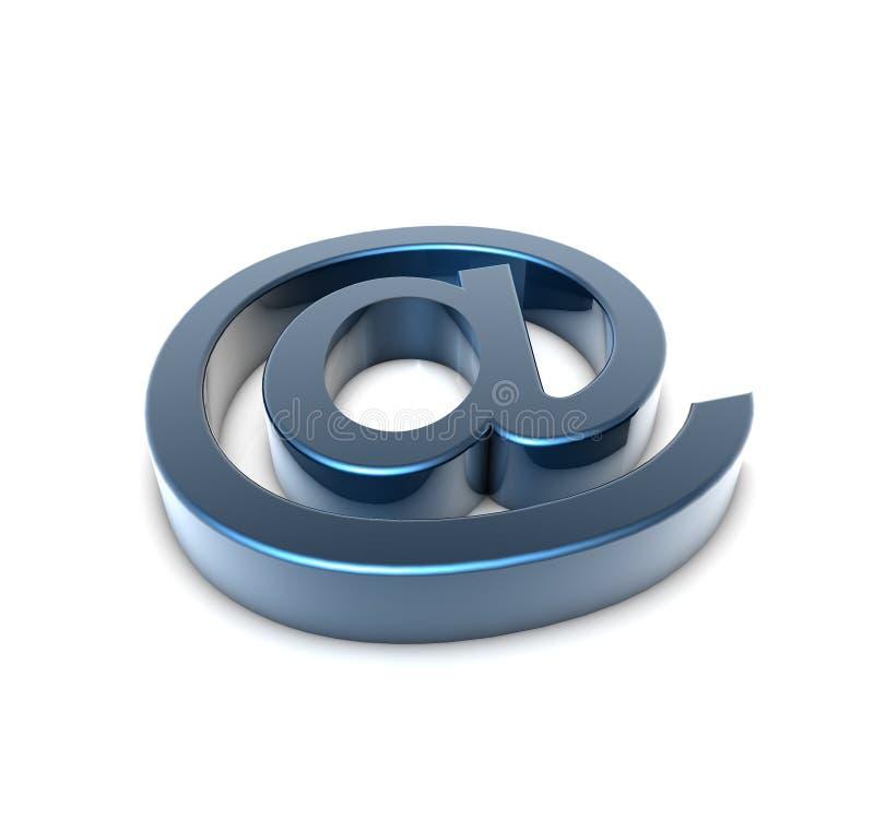 邮件标志 向量例证