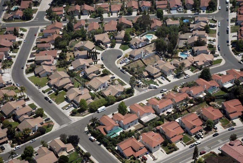 郊区居民 免版税库存照片
