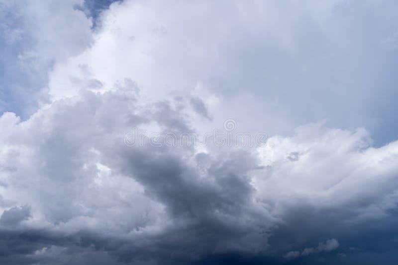 部分传播的积云 库存照片