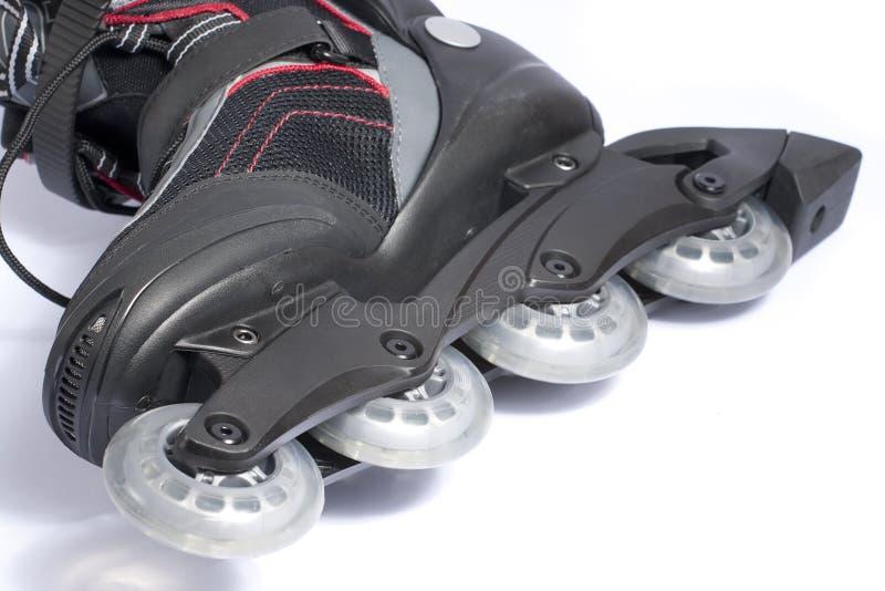 部分溜冰鞋 图库摄影
