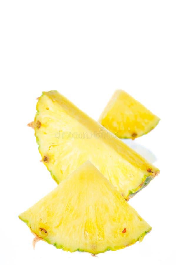 部分菠萝 免版税库存照片