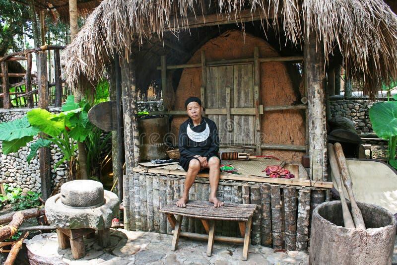 部族妇女 免版税库存照片