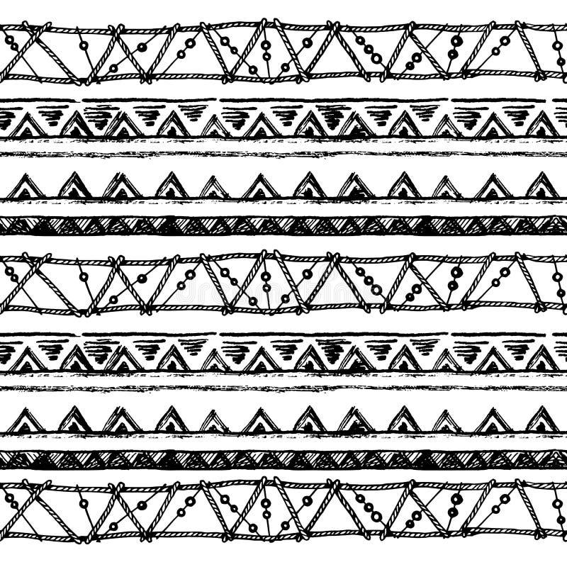 Download 部族种族无缝 黑白颜色 对邀请,网,纺织品,墙纸,包装纸 向量例证 - 插画 包括有 装饰品, 现有量: 72361892