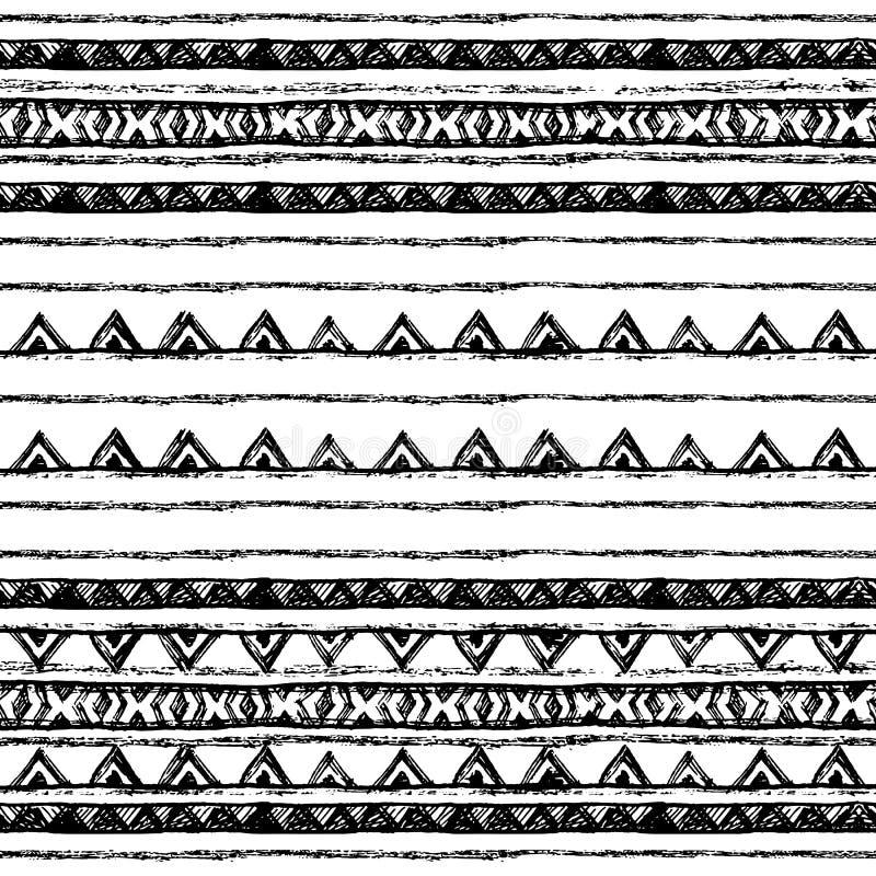 Download 部族种族无缝 黑白颜色 对邀请,网,纺织品,墙纸,包装纸 向量例证 - 插画 包括有 礼品, 打印: 72362038