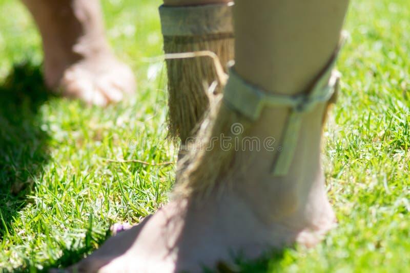 部族脚踝支柱 库存图片