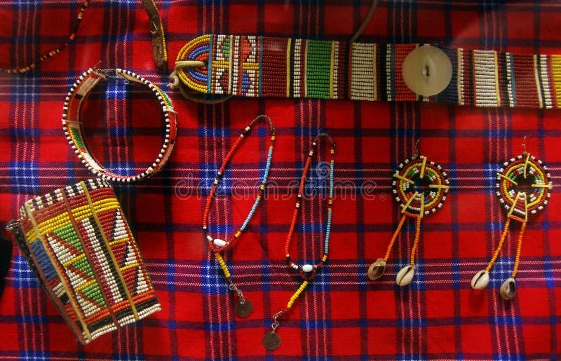 部族非洲的工艺品 库存照片