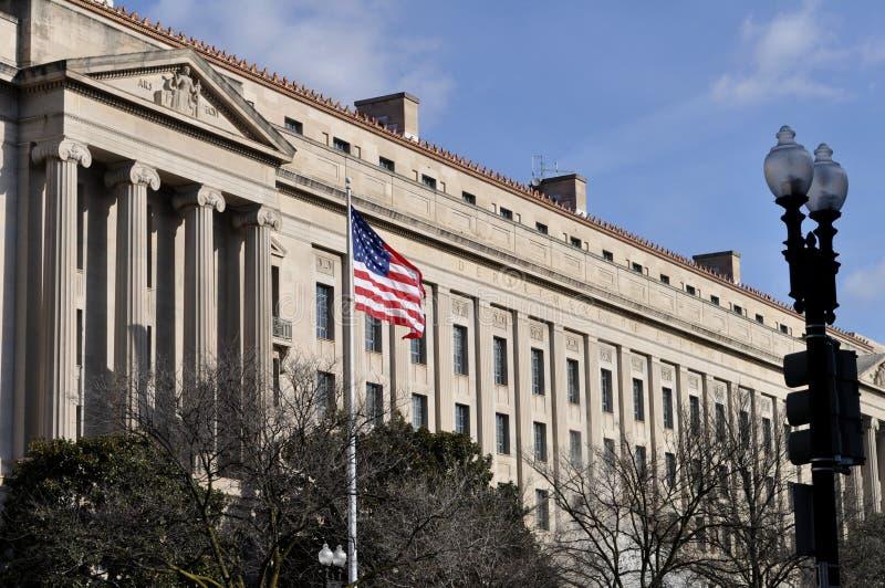 部门正义华盛顿 免版税库存照片