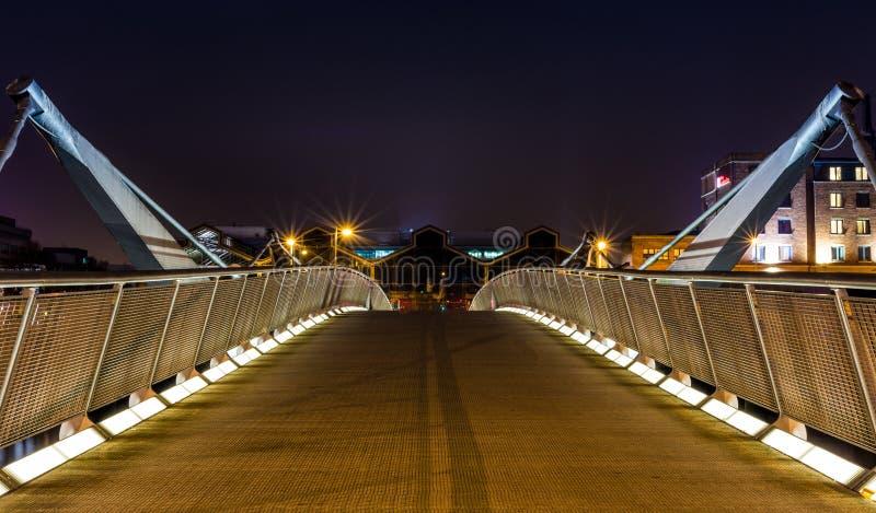 都伯林桥梁 库存照片
