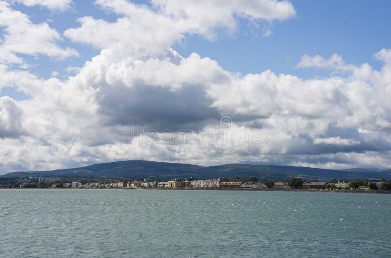 都伯林海湾 爱尔兰 库存照片