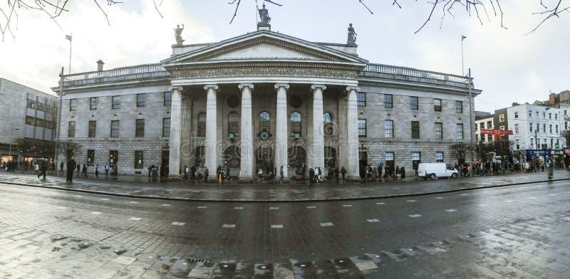 都伯林爱尔兰将军办公室过帐 免版税库存图片