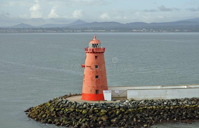 都伯林爱尔兰灯塔 库存图片