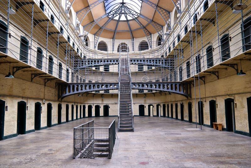 都伯林监狱爱尔兰kilmainham 库存照片