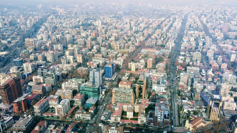 都市化 免版税图库摄影