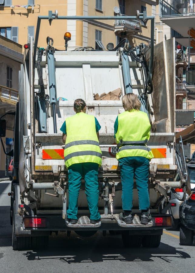 都市回收的废物和垃圾服务