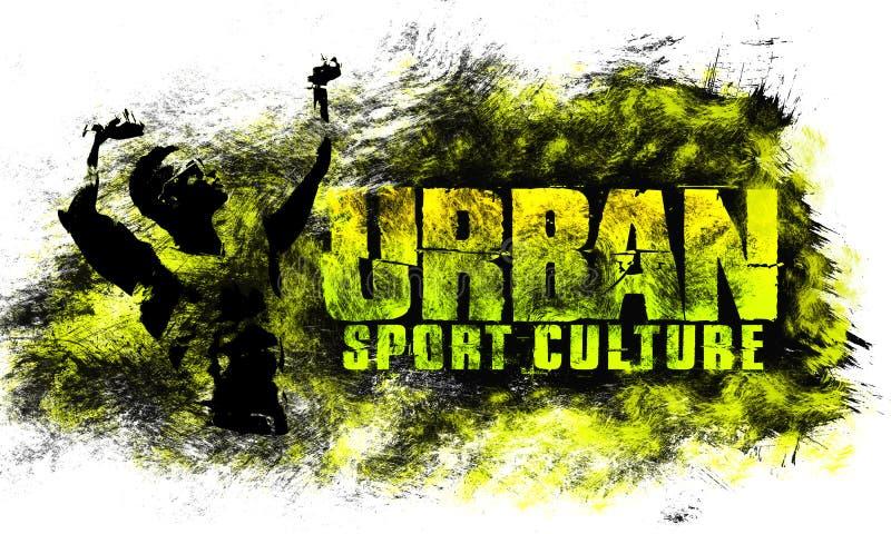 都市城市艺术 街道体育图表样式 时尚时髦的印刷品 模板服装,卡片,标签,海报 象征, T恤杉邮票gr 皇族释放例证