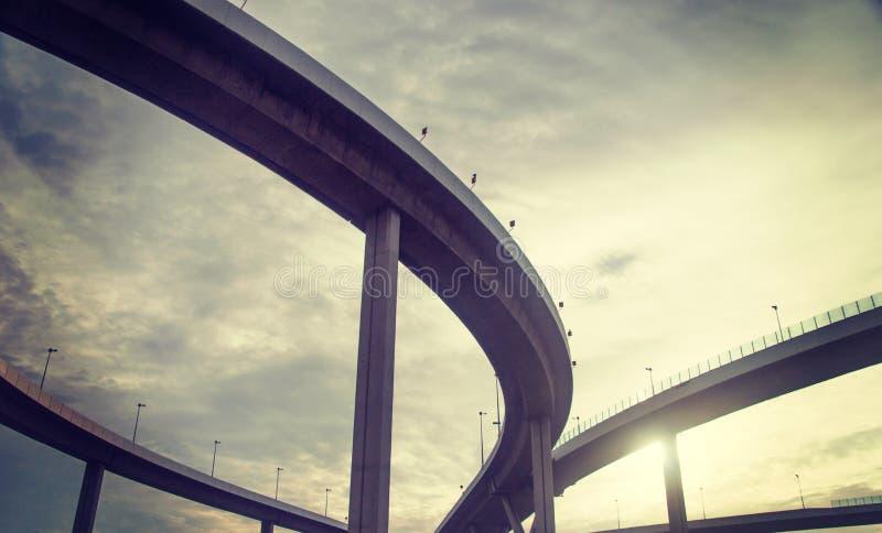 都市天桥 库存图片