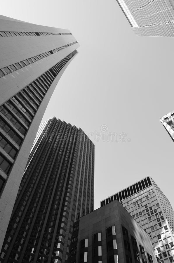 都市巨人 库存照片