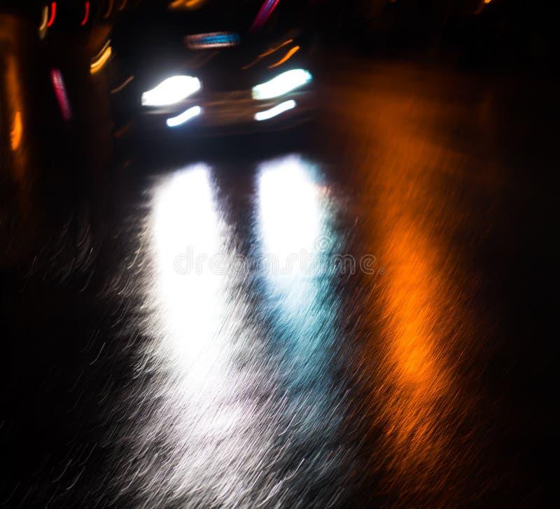 都市抽象的背景 纽约的光和阴影 免版税库存图片