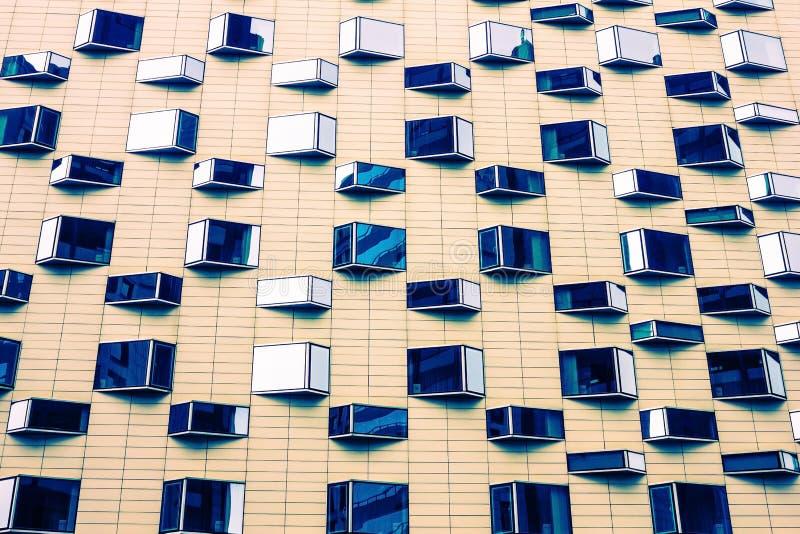 都市样式,建筑学 免版税库存图片